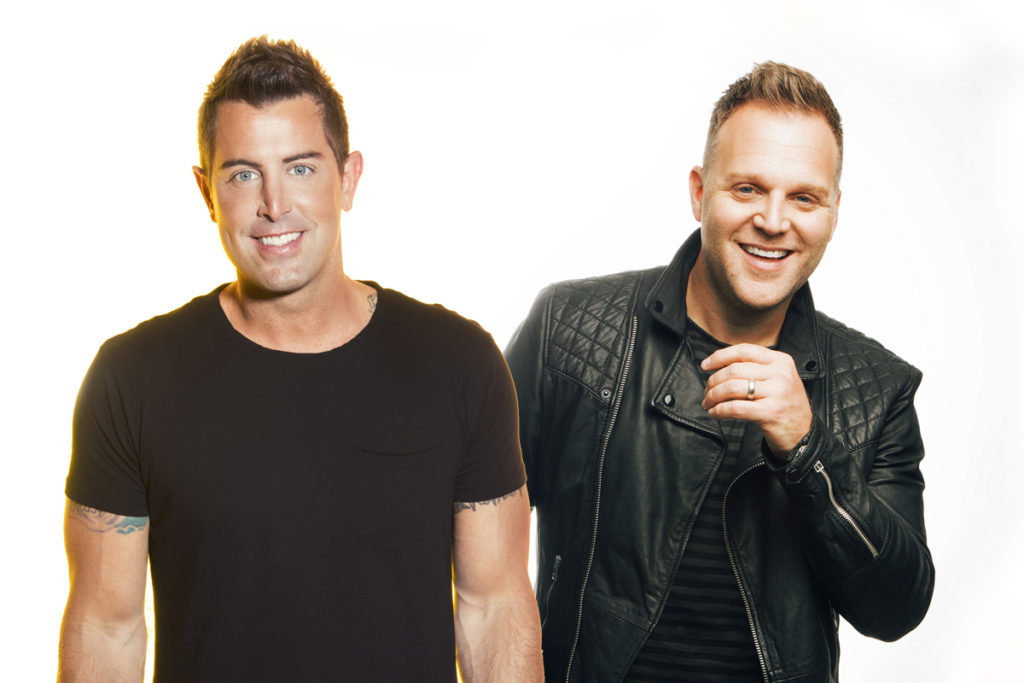 Christian recording artists Jeremy Camp and Matthew West