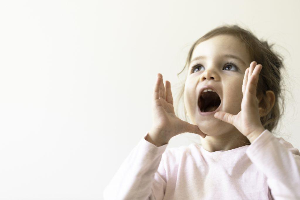 Shouting Toddler